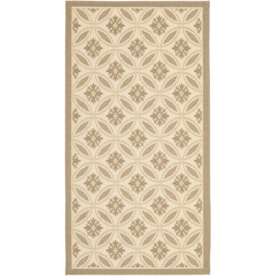 Safavieh Courtyard Collection Katelynn Geometric Indoor/Outdoor Area Rug
