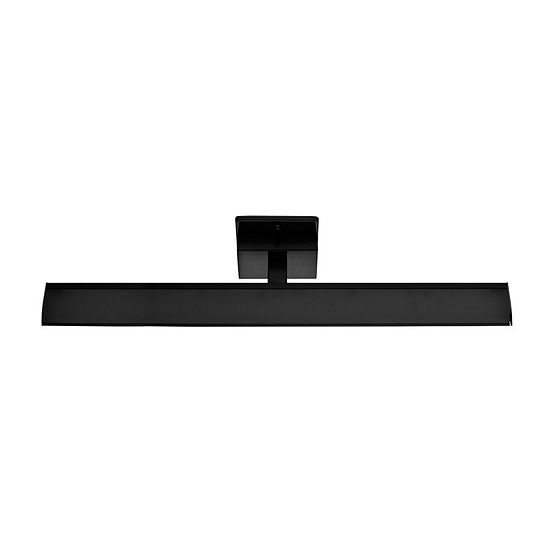 "Eglo Tabiano LED 24"" Matte Black Bath Vanity Wall Light"