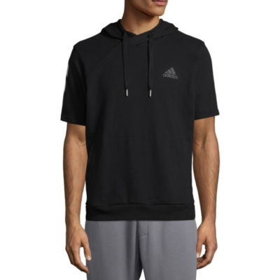 adidas Short Sleeve French Terry Hoodie