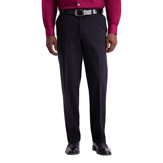 Haggar Work to Weekend PRO Classic Fit Flat Front Pants