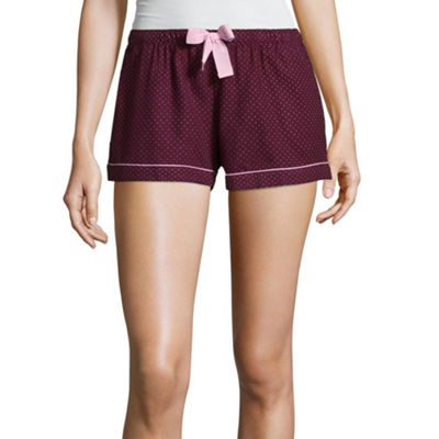 Flirtitude Pajama Shorts - Juniors