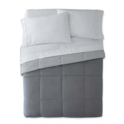 Home Expressions Classic Reversible Down Alternative Comforter