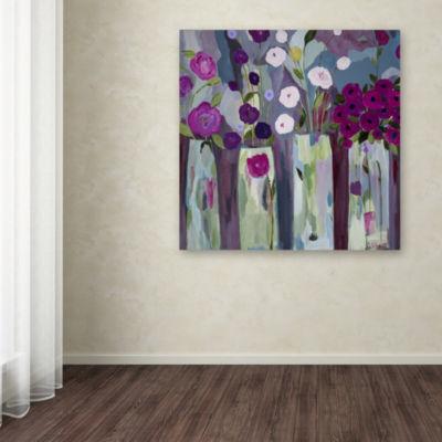 Trademark Fine Art Carrie Schmitt Que Sera Sera Giclee Canvas Art