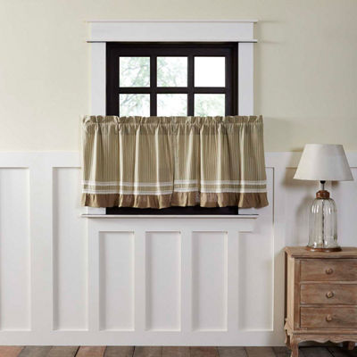 Farmhouse Window Kendra Stripe Tier Pair