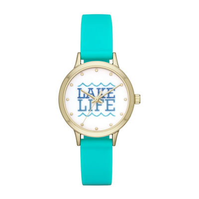 Womens Blue Strap Watch-Fmdbp001e