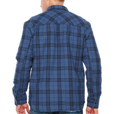 Big Mac Flannel Lightweight Shirt Jacket - Tall