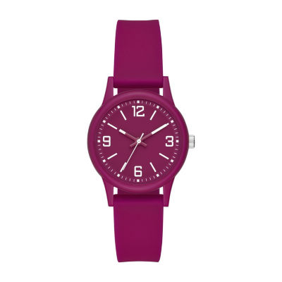 Womens Purple Strap Watch-Fmdcp001a