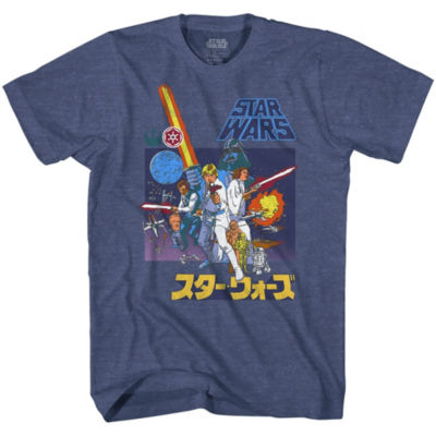 Star Wars Retro Scene Graphic Tee