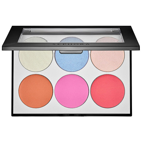 SEPHORA COLLECTION Holographic Face & Cheek Palette