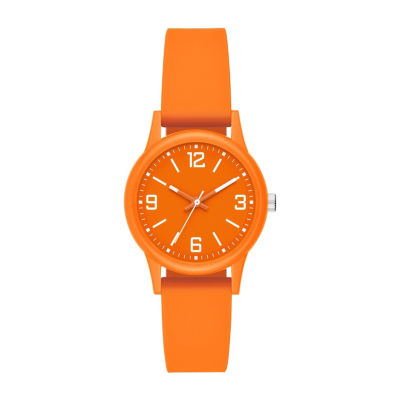 Womens Orange Strap Watch-Fmdcp001b