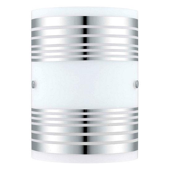 "Eglo Bayman 1-Light 7"" Chrome Wall Light"