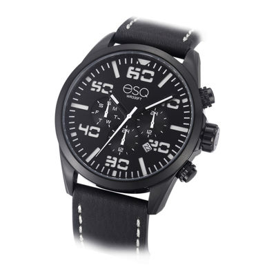 Esq Mens Black Strap Watch-37esq002101a