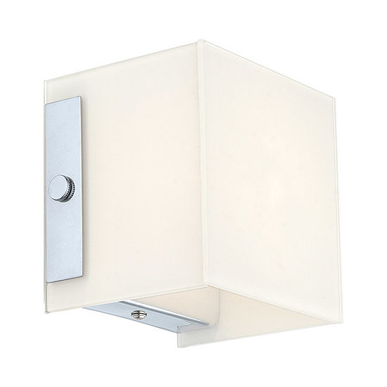 "Eglo Alea I 1-Light 5"" Chrome Sconce Wall Light"