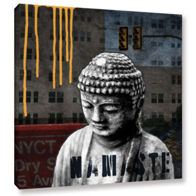 Urban Buddha III Gallery Wrapped Canvas