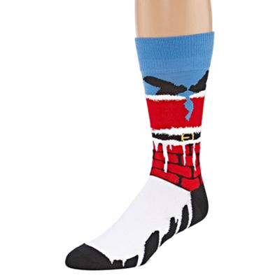 Reckless Holiday 1 Pair Crew Sock-Mens