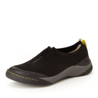 J Sport By Jambu Halden Womens Slip-On Shoes Zip Round Toe