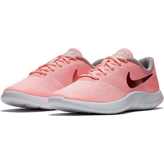 Nike Flex Contact Girls Running Shoes Slip-on - Big Kids