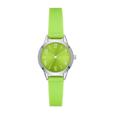Womens Green Strap Watch-Fmdcp001f