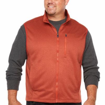 IZOD Advantage Performance Spectator Fleece Vest Big and Tall
