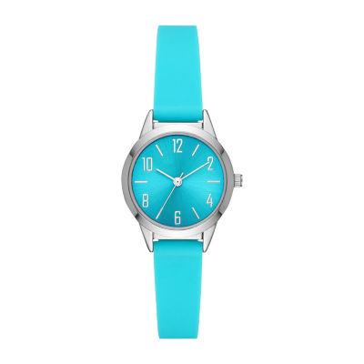 Womens Blue Strap Watch-Fmdcp001e