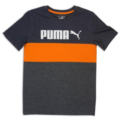 Puma Kids Apparel Graphic T-Shirt-Big Kid Boys