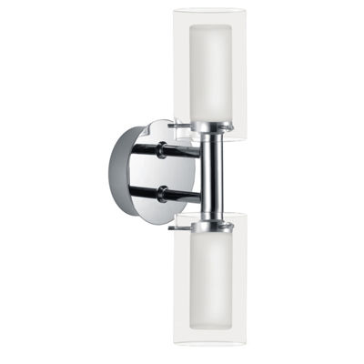 "Eglo Palermo 2-Light 5"" Chrome Wall Light"