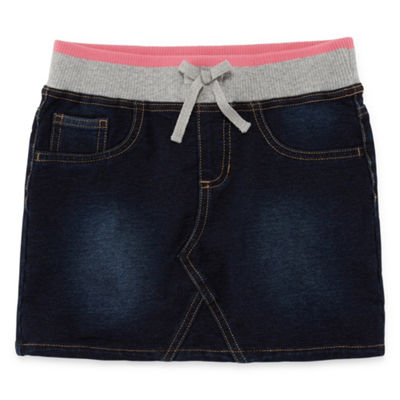 Arizona Denim Skirt Girls' 4-16 and Plus