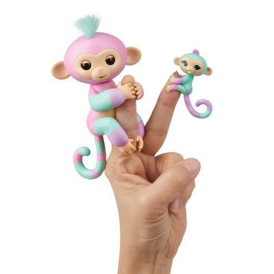 Fingerlings Baby Monkey and Mini BFF