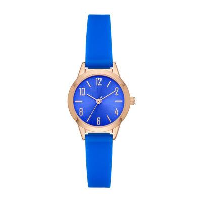 Womens Blue Strap Watch-Fmdcp001i