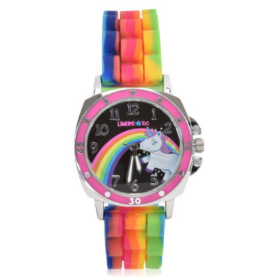 Limited Too Girls Multicolor Strap Watch-Lmt90037jc