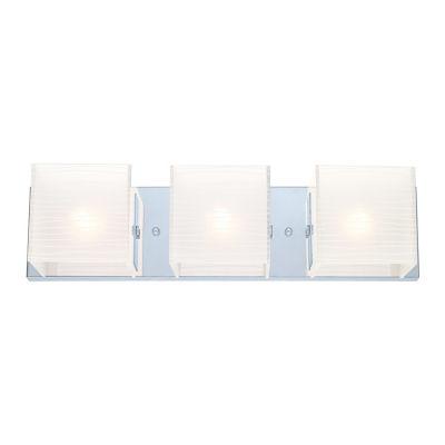 "Eglo Alea I 3-Light 20"" Chrome Vanity Wall Light"