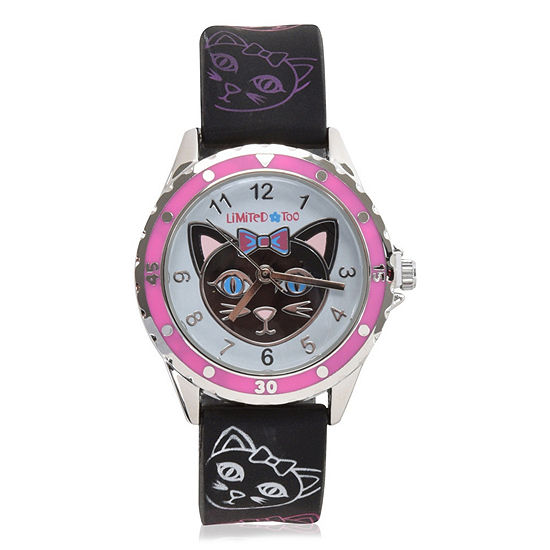 Limited Too Girls Multicolor Strap Watch-Lmt90053jc
