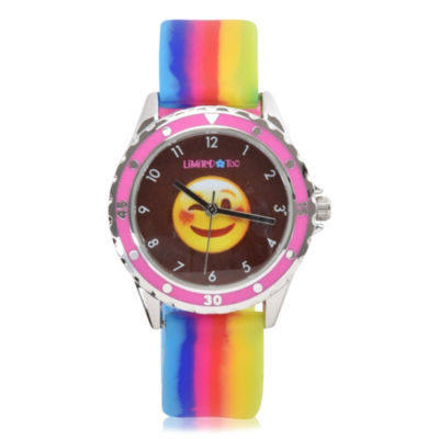 Limited Too Girls Multicolor Strap Watch-Lmt90024jc