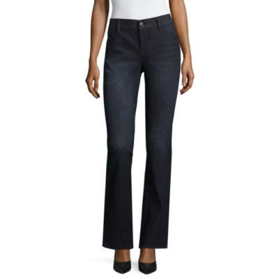 Liz Claiborne Curvy Flexi Fit Bootcut Jeans