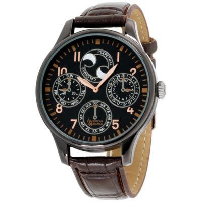 Womens Brown Bracelet Watch-Am4017bk50-006