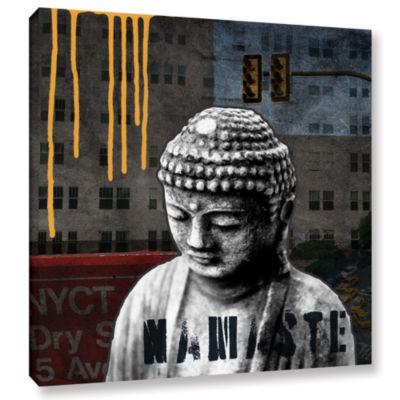 Urban Buddha III Gallery Wrapped Canvas