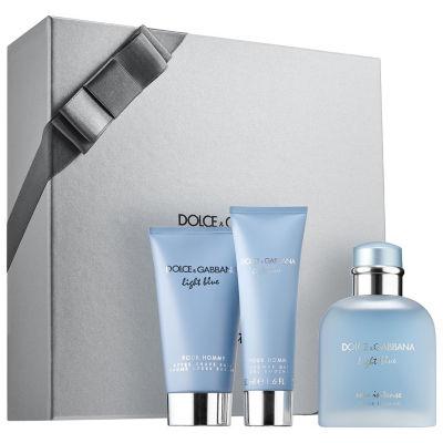 DOLCE&GABBANA Light Blue Eau Intense Pour Homme Gift Set