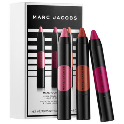 Marc Jacobs Beauty Make Your Le Marc 3 Piece Mini Liquid Lip Crayon Set