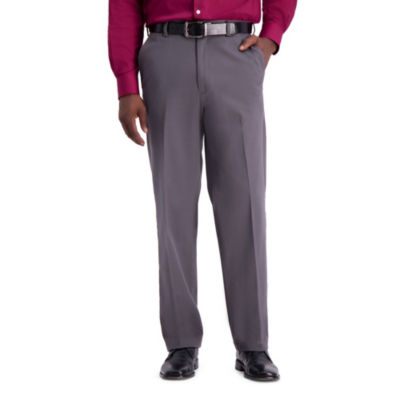 Haggar Work To Weekend PRO Relaxed Fit Flat Front Pants
