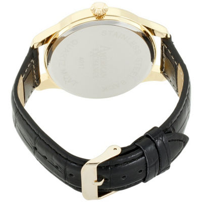 Womens Black Bracelet Watch-Am4017g50-325