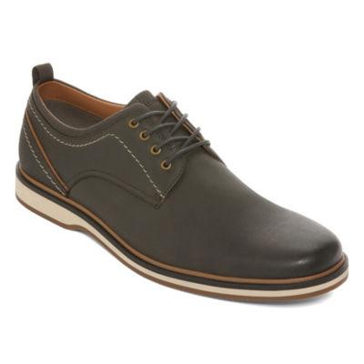 JF J.Ferrar Mens Bender Oxford Shoes Lace-up