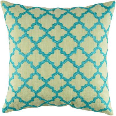Rizzy Home Caspian Geometric Decorative Pillow