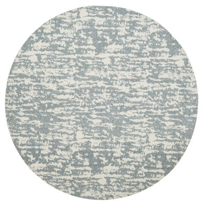 Safavieh Marbella Collection Bryon Geometric RoundArea Rug