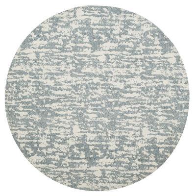 Safavieh Marbella Collection Bryon Geometric RoundArea Rug
