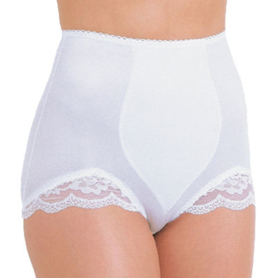 Rago Tear Drop Panel Stretch-Lace Light Control Control Briefs 919