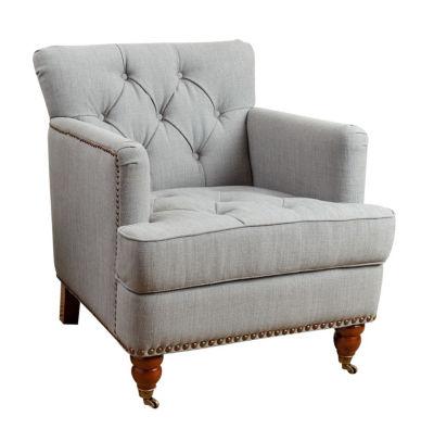 Devon & Claire Elle Fabric Club Chair