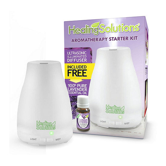 Healing Solutions Medium Diffuser +Lavender for Essential Oil's