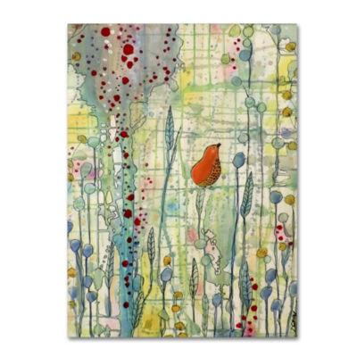 Trademark Fine Art Sylvie Demers Alpha Giclee Canvas Art