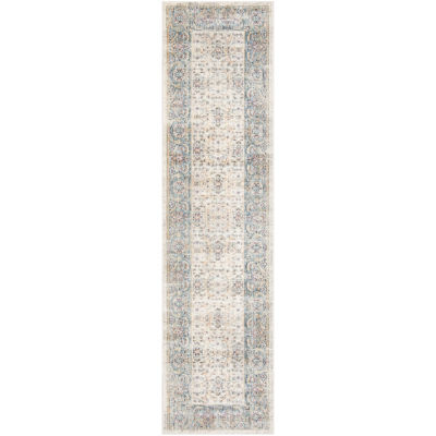 Safavieh Illusion Collection Ruby Oriental Runner Rug