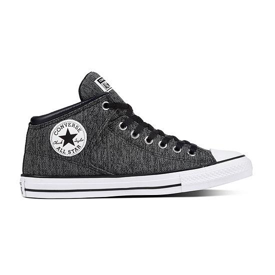 converse all star hi canvas nere